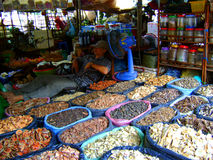 Spice market. Street spice market exotic spices Stock Images
