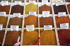 Spice market Royalty Free Stock Photo