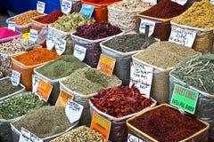 Spice market in Turkey Stock Photography