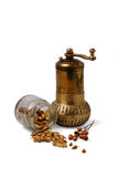 Spice mill royalty free stock photo