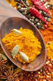 Spice mix. Exotically oriental Spice Mix as close up Stock Photo