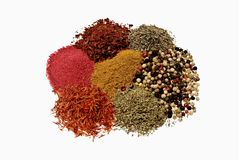 Spice mix Royalty Free Stock Images