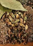 Spice mix background Royalty Free Stock Photo