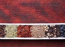Spice mix closeup Stock Photos