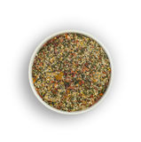 Spice mix for fish on white background. Royalty Free Stock Photos