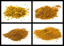 Spice mixtures Royalty Free Stock Photo