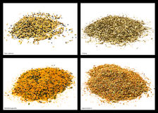 Spice mixtures Stock Images