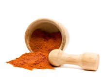 Spice Of Pepper Or Turmeric Stock Images