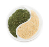 Spice Of Thyme And Garlic Royalty Free Stock Photos