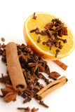 Spice and orange Stock Image