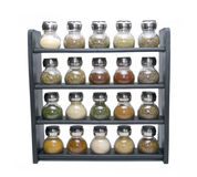 Spice Rack Isolated Stock Images