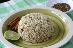 Spice rice Royalty Free Stock Image
