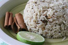 Spice rice royalty free stock images