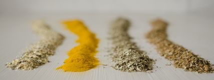 The spice saffron royalty free stock image