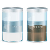 Spice - salt and pepper-vector file added Stock Photography