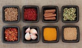 Free Spice Sampler Stock Image - 24021201