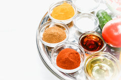 Spice seasoning Stock Image