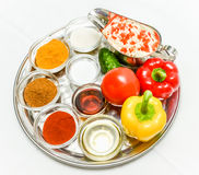 Spice seasoning Royalty Free Stock Image