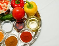 Spice seasoning Stock Photography