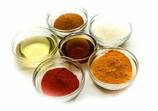 Spice seasoning Stock Images