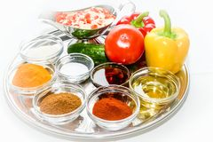Spice seasoning Stock Photo