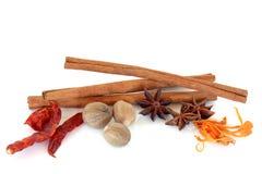 Spice Selection Royalty Free Stock Photos
