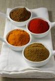 Spice selection Stock Photos