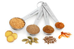 Spice Selection Stock Photo