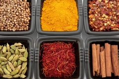 Spice Selection Royalty Free Stock Photography