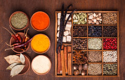 Spice set Stock Photos