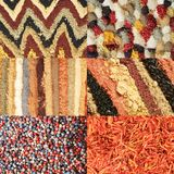 Spice set Stock Image