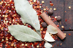 Spice Set Royalty Free Stock Images