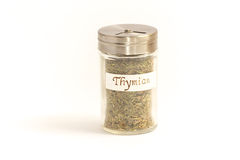 Spice Shaker thyme Royalty Free Stock Image
