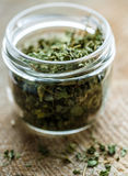 Spice Shambhala in the bank of glass Stock Photography