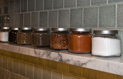 Spice Shelf Royalty Free Stock Images