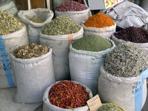 Spice shop. At amman stock photography