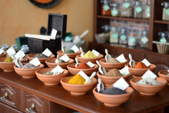 Spice shop Royalty Free Stock Images
