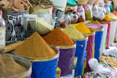 Spice shop interior Royalty Free Stock Images