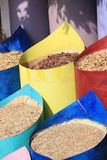 Spice shop in the market Royalty Free Stock Photo