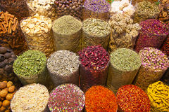 Spice souk in Dubai Stock Photos