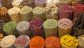 Spice souk in Dubai Royalty Free Stock Photography