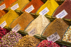 Spice souk in Dubai Royalty Free Stock Photo