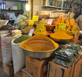 Spice souk Stock Photos