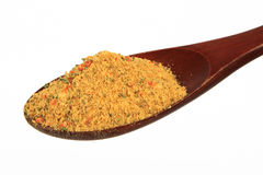 Spice on spoon Royalty Free Stock Photos