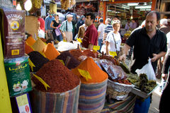 Spice street market Royalty Free Stock Images