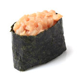 Spice sushi hamachi Royalty Free Stock Photo