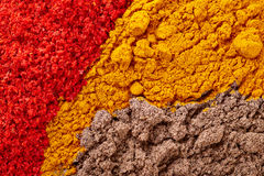 Spice texture Royalty Free Stock Photos