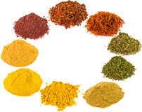 Spice - on a white background. Royalty Free Stock Photo