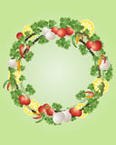 Spice wreath Royalty Free Stock Photos