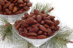 Spiced Almonds Royalty Free Stock Photos